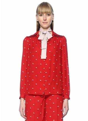 Valentino Gömlek Kırmızı